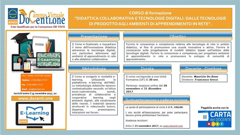 Corso Prof. Maurizio De Rose